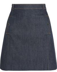 dunkelblauer Jeans Minirock von Vanessa Seward