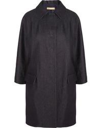 dunkelblauer Jeans Trenchcoat von Michael Kors