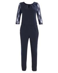 dunkelblauer Jumpsuit von Anna Field