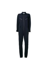 dunkelblauer Jumpsuit von P.A.R.O.S.H.