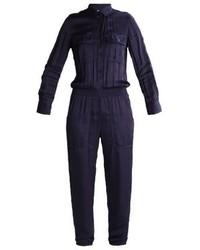 dunkelblauer Jumpsuit von Ralph Lauren