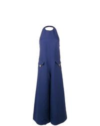 dunkelblauer Jumpsuit von Valentino