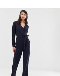 dunkelblauer Jumpsuit von Vero Moda Tall