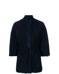 dunkelblauer Kimono von Salvatore Santoro