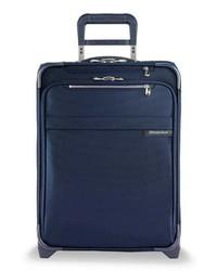 dunkelblauer Koffer