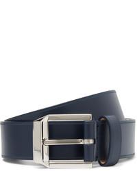 dunkelblauer Ledergürtel von Givenchy