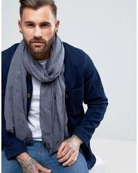 dunkelblauer leichter Schal von Asos