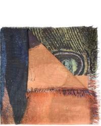 dunkelblauer leichter Schal von Figue
