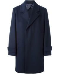 dunkelblauer Mantel von Alexander McQueen