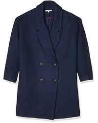 dunkelblauer Mantel von AN'GE