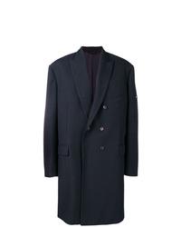 dunkelblauer Mantel von Balenciaga