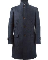 dunkelblauer Mantel von Brunello Cucinelli