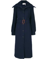 dunkelblauer Mantel von Chloé