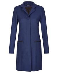 dunkelblauer Mantel von Daniel Hechter