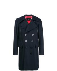 dunkelblauer Mantel von DSQUARED2