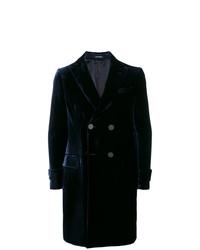 dunkelblauer Mantel von Emporio Armani