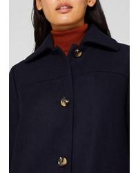 dunkelblauer Mantel von Esprit