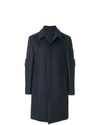 dunkelblauer Mantel von Fendi