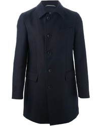 dunkelblauer Mantel von Hugo Boss