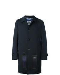 dunkelblauer Mantel von Junya Watanabe MAN