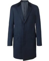dunkelblauer Mantel von Lanvin