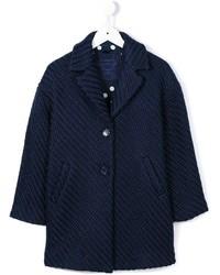 dunkelblauer Mantel von MonnaLisa