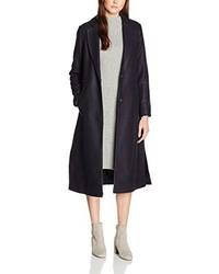 dunkelblauer Mantel von New Look