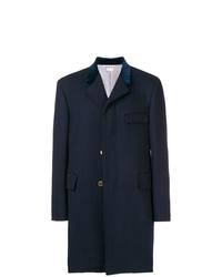 dunkelblauer Mantel von Thom Browne