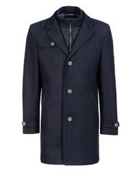 dunkelblauer Mantel von Thomas Goodwin