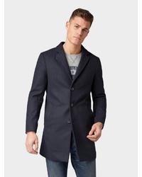 dunkelblauer Mantel von Tom Tailor