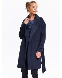 dunkelblauer Mantel von Top Secret