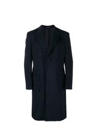 dunkelblauer Mantel von Yohji Yamamoto