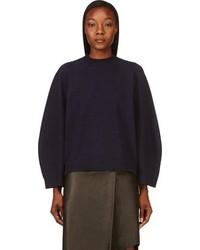 dunkelblauer Oversize Pullover von 3.1 Phillip Lim