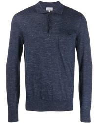 dunkelblauer Polo Pullover von Brioni