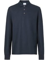 dunkelblauer Polo Pullover von Burberry