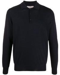 dunkelblauer Polo Pullover von Canali