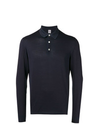 dunkelblauer Polo Pullover von Eleventy
