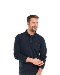dunkelblauer Polo Pullover von ENGBERS