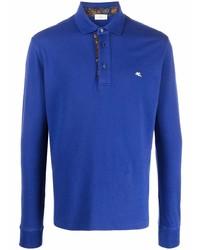 dunkelblauer Polo Pullover von Etro