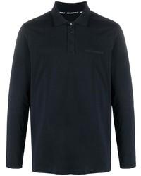 dunkelblauer Polo Pullover von Karl Lagerfeld