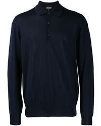 dunkelblauer Polo Pullover von Lanvin