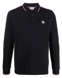 dunkelblauer Polo Pullover von Moncler