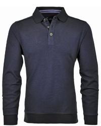 dunkelblauer Polo Pullover von RAGMAN