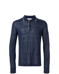 dunkelblauer Polo Pullover von Salvatore Ferragamo