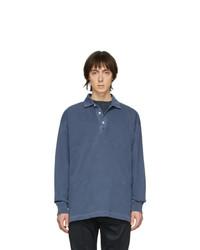 dunkelblauer Polo Pullover von Schnaydermans