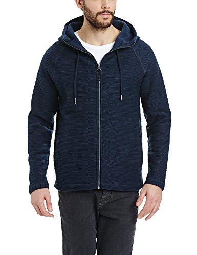 dunkelblauer Pullover mit einem Kapuze von Bench