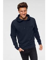 dunkelblauer Pullover mit einem Kapuze von Timberland