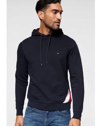 dunkelblauer Pullover mit einem Kapuze von Tommy Hilfiger