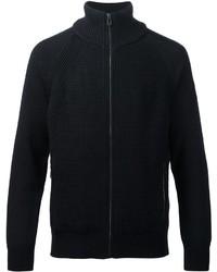 dunkelblauer Pullover mit einem Reißverschluß von Belstaff