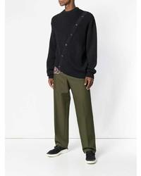 dunkelblauer Pullover mit einem Rundhalsausschnitt von Lanvin